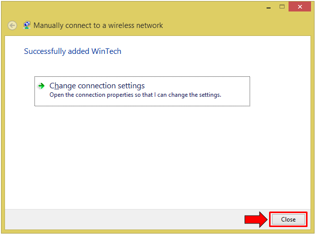 how to connect to a hidden network windows 8