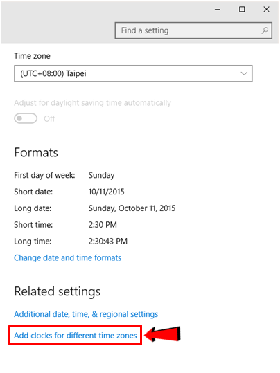 How to Tweak the Time and Date Settings on Windows 10