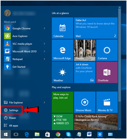 Personalizing Windows 10's Initial Appearance | Windows Techies