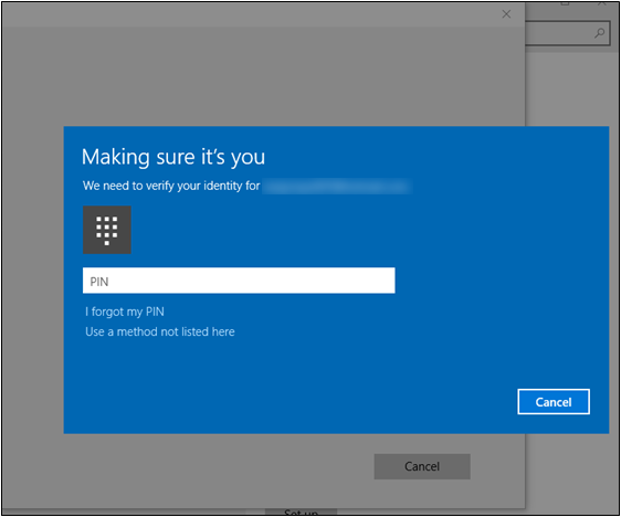 Image result for make sure its you windows 10 password
