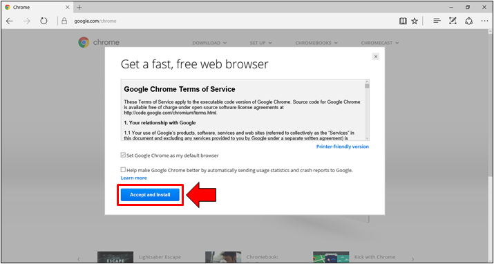 How to Install Google Chrome in Windows 10 (Online and Offline
