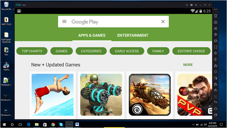 Want to Use Android Apps in Your Windows 10 PC? Install NOX App