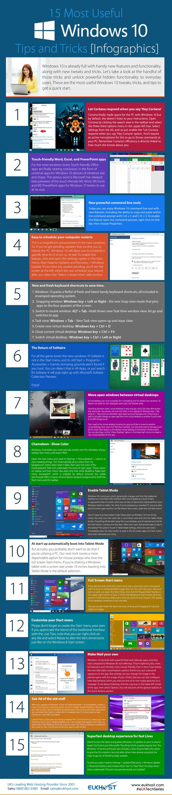 15 Windows 10 Tips and Tricks