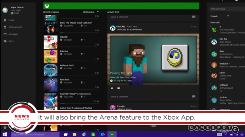 New Gaming Features in the Upcoming Windows 10 Creators
